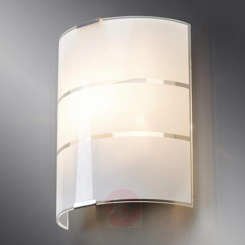Vincenzo Glass Wall Lamp - Wall Lights
