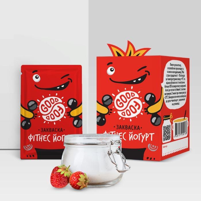 Закваска сухая для приготовления йогурта Фитнес - Bacterial probiotic starter for yogurt