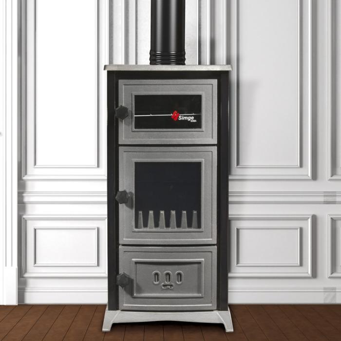 Fireplace with oven - fireplace with oven
