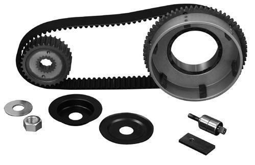 eu parts  - Axle and belt drive