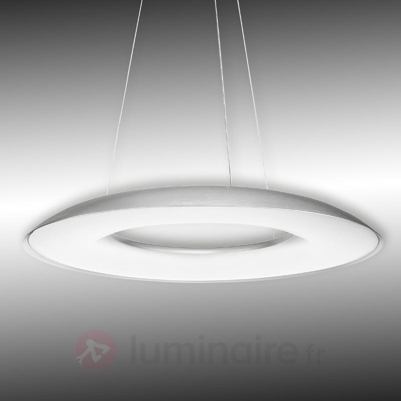 Suspension LED Ayr à int variable et à une lampe - Suspensions LED