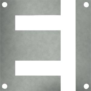 Lamierini monofase Serie EI con fori spostati - Trasformatori