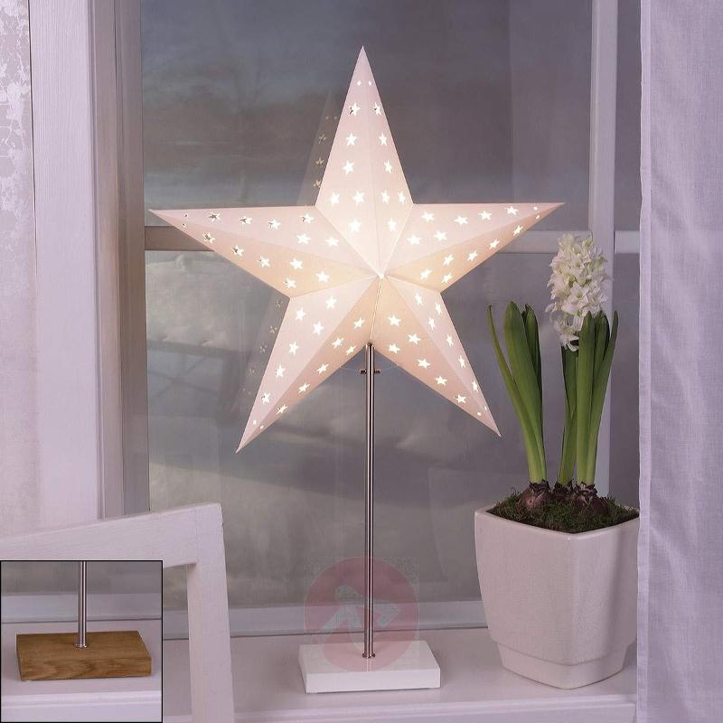 Decorative light Combi Pack - star and lampshade - Christmas Stars