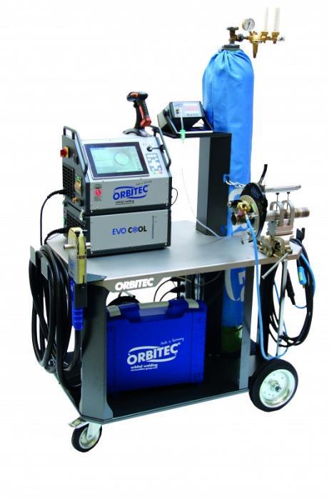 Mobile Orbital Workstation - Mobile orbital workstation for orbital welding, Orbitec