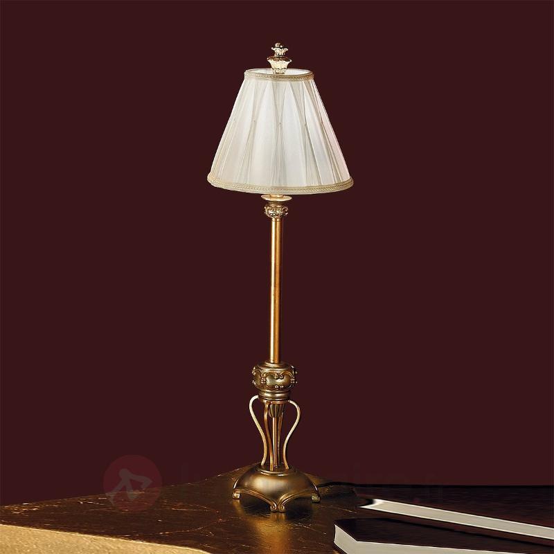 Grande lampe à poser ALVARO - Lampes à poser en tissu