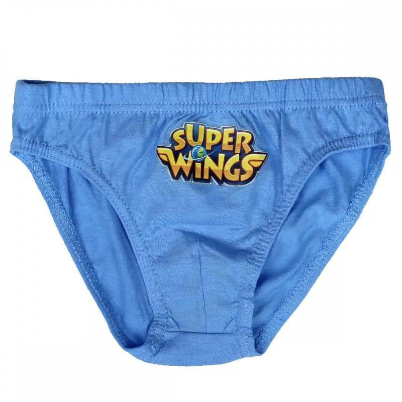 36x Lots de 3 culottes Super Wings du 2 au 8 ans - Sous-vêtement