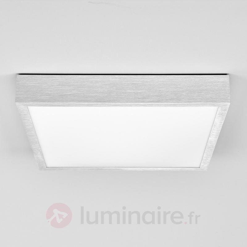 Plafonnier LED Finnian en alu - Plafonniers LED