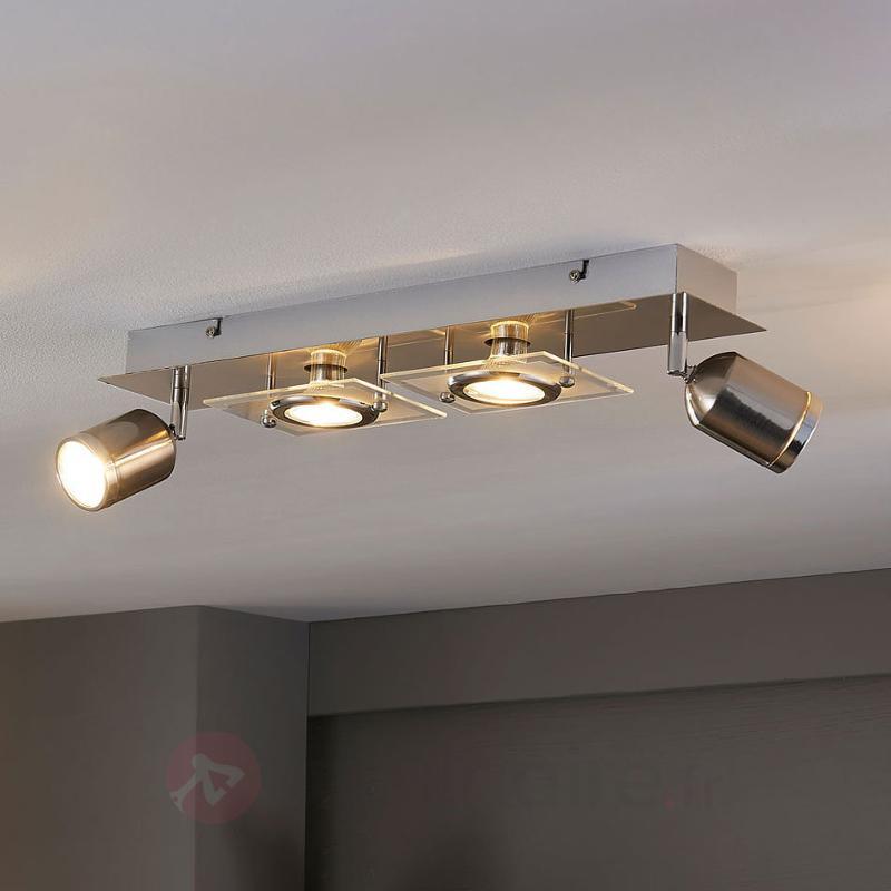 Plafonnier LED à 4 lampes Fjolla - Spots et projecteurs LED
