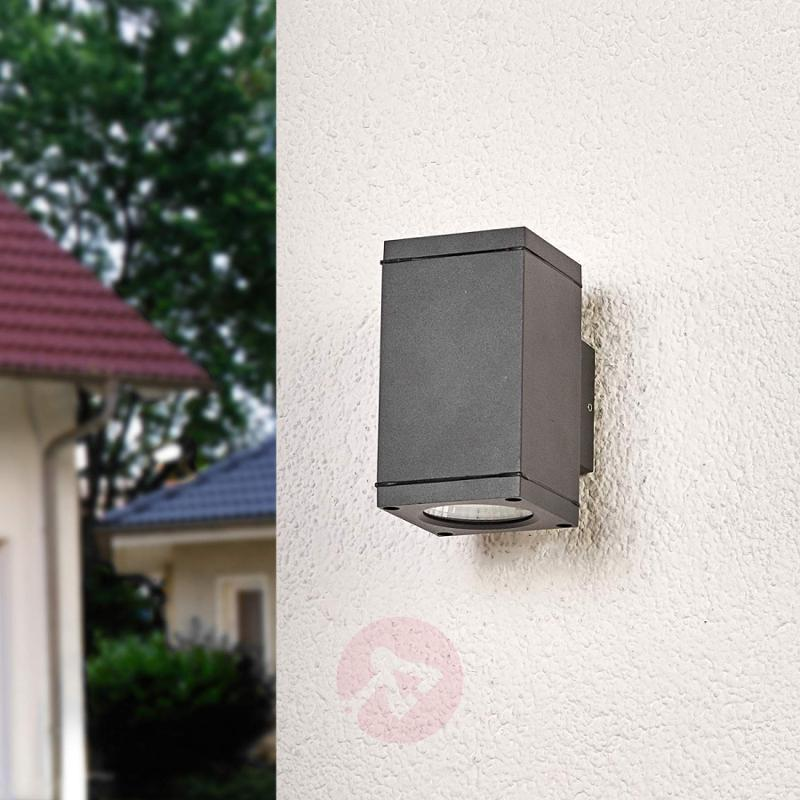 Square LED outdoor wall lamp Nuria - outdoor-led-lights