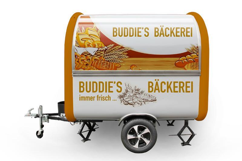 Foodtruck Anhänder Buddystar Bäcker