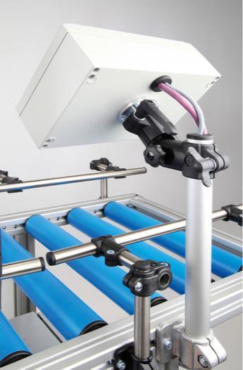 Soporte para monitor con brida giratoria -