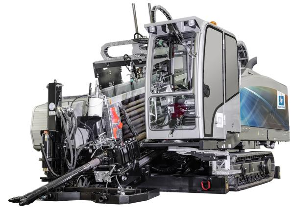 Cummins motor 224 kW T4i for driving and drilling - GRUNDODRILL 28Nplus