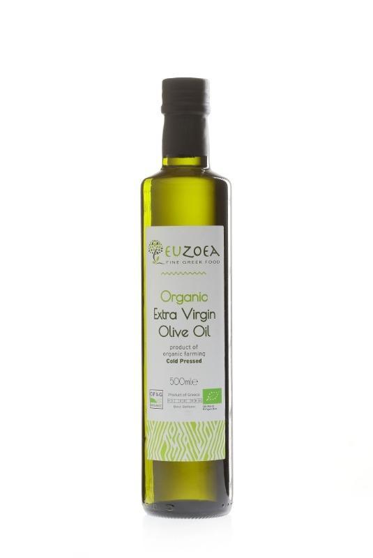 Organic Extra Virgin Olive Oil (GB-ORG-02) - 500ml -