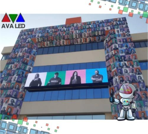 TN-OF-8 Series Fix installation LED Screen - Fix instalation Outdoor Led Panel
