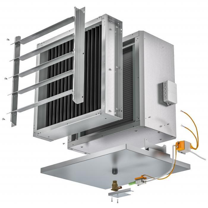 Aparaty grzewczo-wentylacyjne Top C - Rozwiązanie zapewniające ciepłe powietrze w halach dla niemal wszystkich wymagań