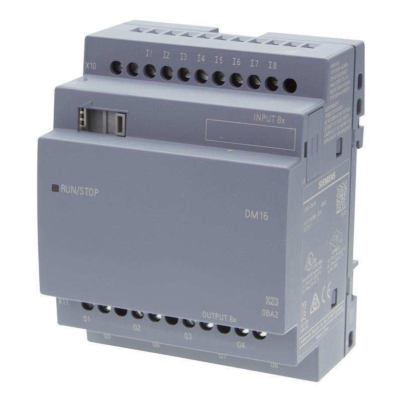 Siemens LOGO! 8 DM16 230R - 6ED1055-1FB10-0BA2 - null