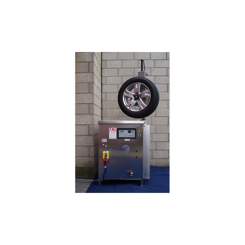 Machine a nettoyer des jantes Tiresonic - Service roue