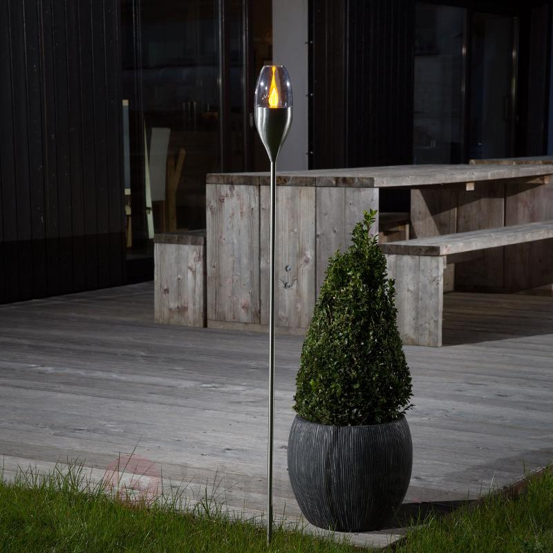 Lampe de jardin solaire pleine d'ambiance Jari - Lampes solaires décoratives