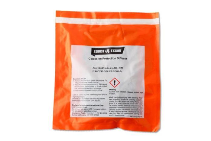 Zerust Activpak ® - VCI-corrosieremmende kussentjes