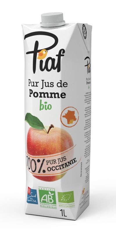 Pur Jus de Pomme BIO 100% Occitanie PIAF 1L - Boissons