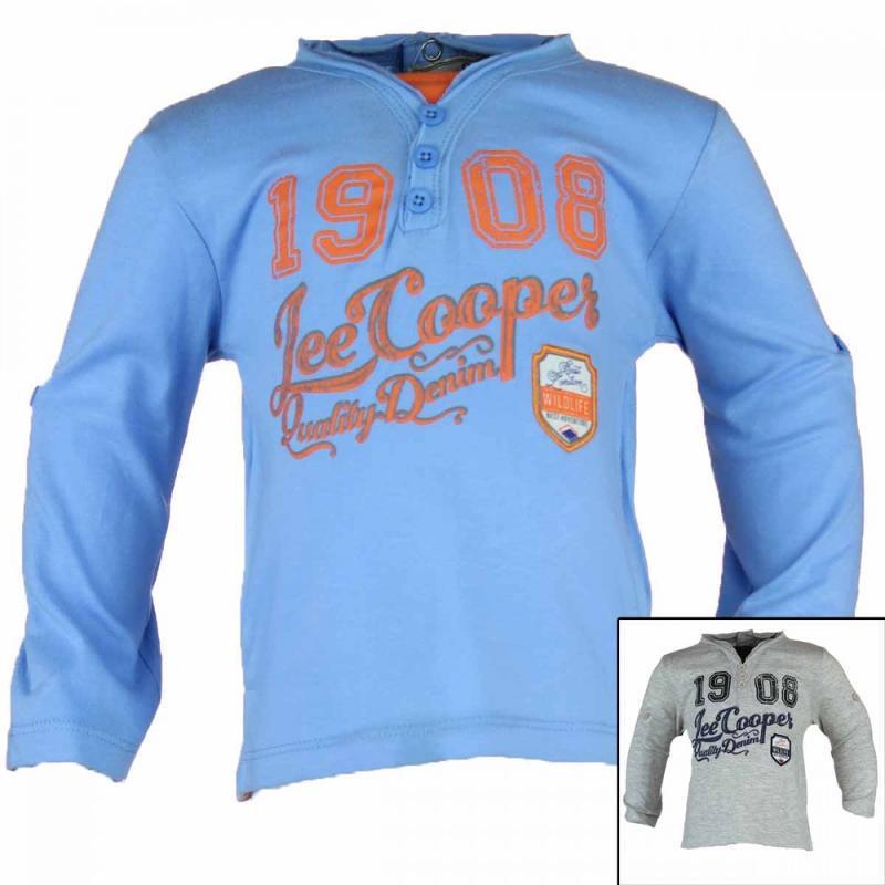 8x T-shirts manches longues Lee Cooper du 6 au 24 mois - Vêtement hiver
