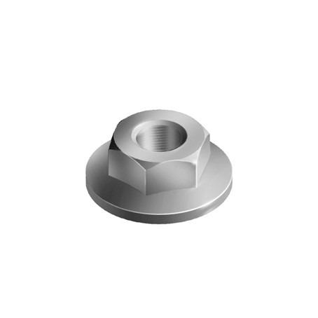 Flange Nut Zinc plated seel / Stainless steel - Flange nut M6 & M8 to be used in conjunction with a hammer head screw