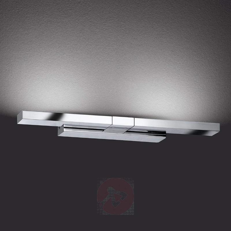 Clareo LED Wall Light Flexible Chrome - Wall Lights