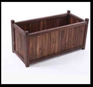 Special design wooden flowerpot