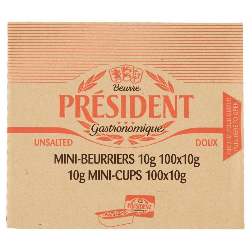 Mini Burriera 100 x 10 g - Salumi latticini e uova - Latticini e formaggi