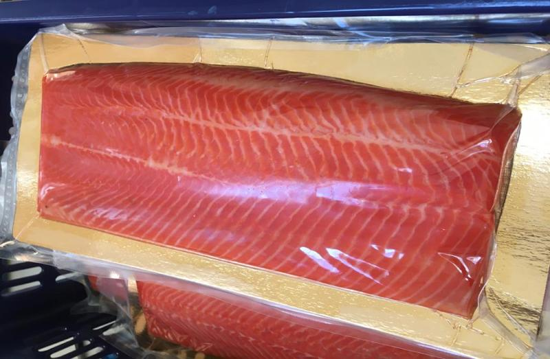 Cold Smoked Trout Layer 0.4 kg + gutted (c) unpacked per 1 kg - SMOKED PRODUCTS