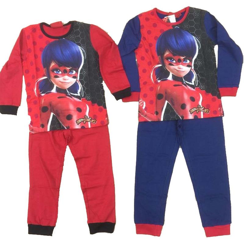 Grossiste en ligne de Pyjama long LadyBug du 4 au 10 ans - Pyjama