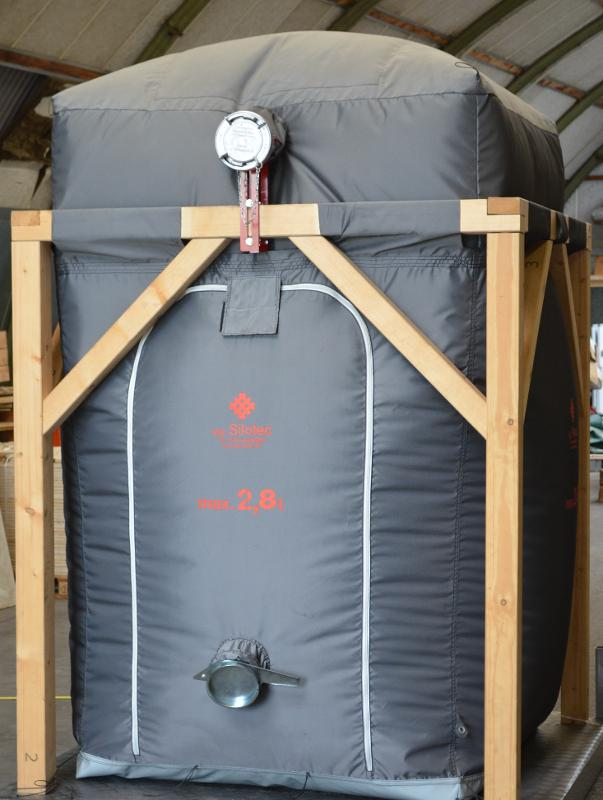 "Wood Pellet storage (HPL) - HPL ""ECO"""