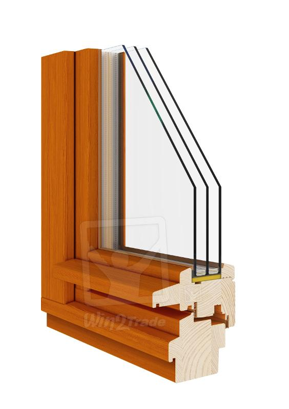 Traditionell Soft-line (Fenster Holz 68|78|92) - null