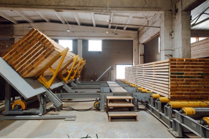 Four-sided planer mechanization -