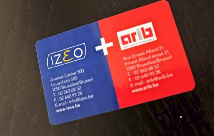 Carte PVC - impression digitale numerique quadri