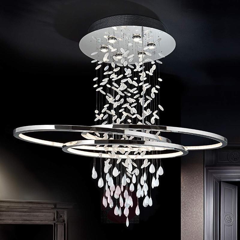Fantastic crystal hanging light Bruma - Pendant Lighting