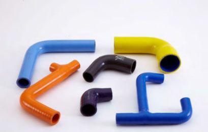 Silicone coolant hoses -