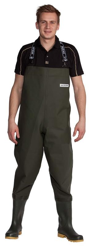 Waders | OCEAN de Luxe | 700g PVC / sqm. - heavy waders with extreme durability
