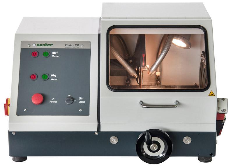 Nasstrennschneidmaschine TYPE Cuto 20 - Robuster Trennschneider für den Einsatz in Materialographie und Produktion