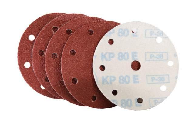 Schleifscheibe für Holz /Fußboden , Lack / Farbe KP80E Klett