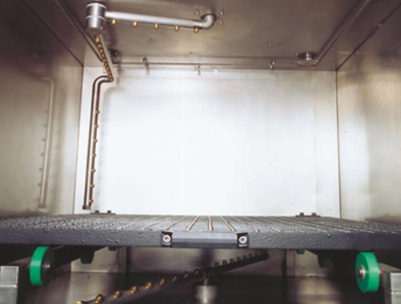 Clean-o-mat FR - Cleaning system for large, unhandy parts and small series parts.