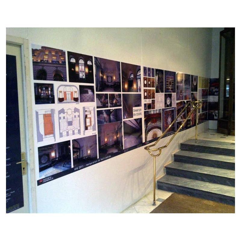 Micro-ventouse (sans colle) - Affiches et posters