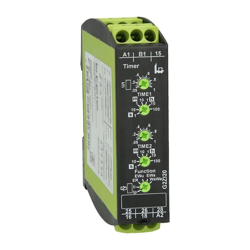 Relais multifonctions TELE G2ZI20 12-240VAC/DC - 120501 - null