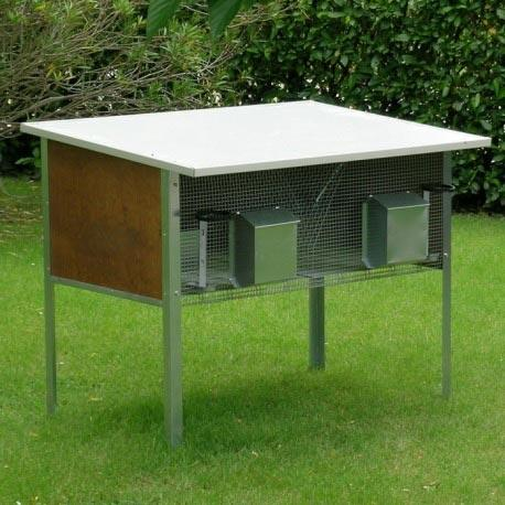 Rabbit Hutch for 2 Breed Outdoor - Rabbit Hutch for 2 Breed Outdoor Ferranti
