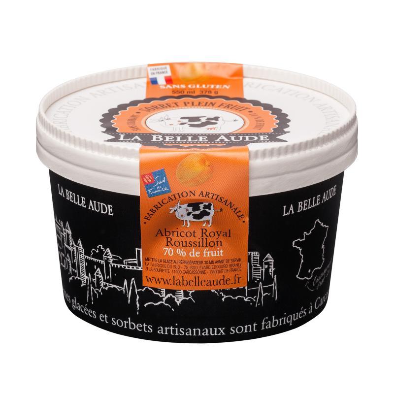"""pots 550ml """"la belle Aude"""" - Produits laitiers"""