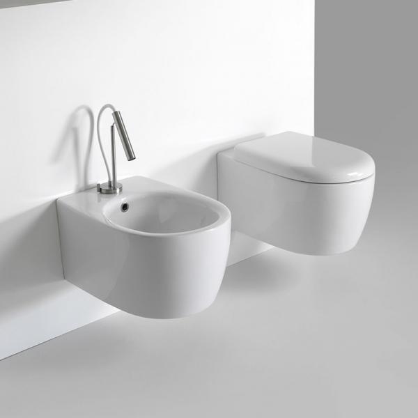 Ceramiche Bagno Civita Castellana.Sanitari Bagno Sospesi Basic Circle Dimensioni Cm 51x35xh26 43