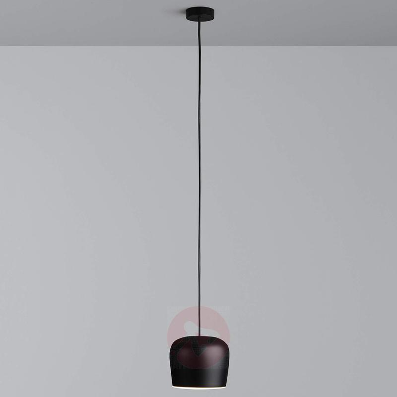 Designer hanging light Aim Small Fix LED, black - design-hotel-lighting