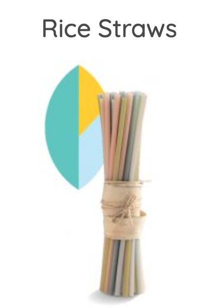 EQUO STRAWS - Natural Straw Alternatives