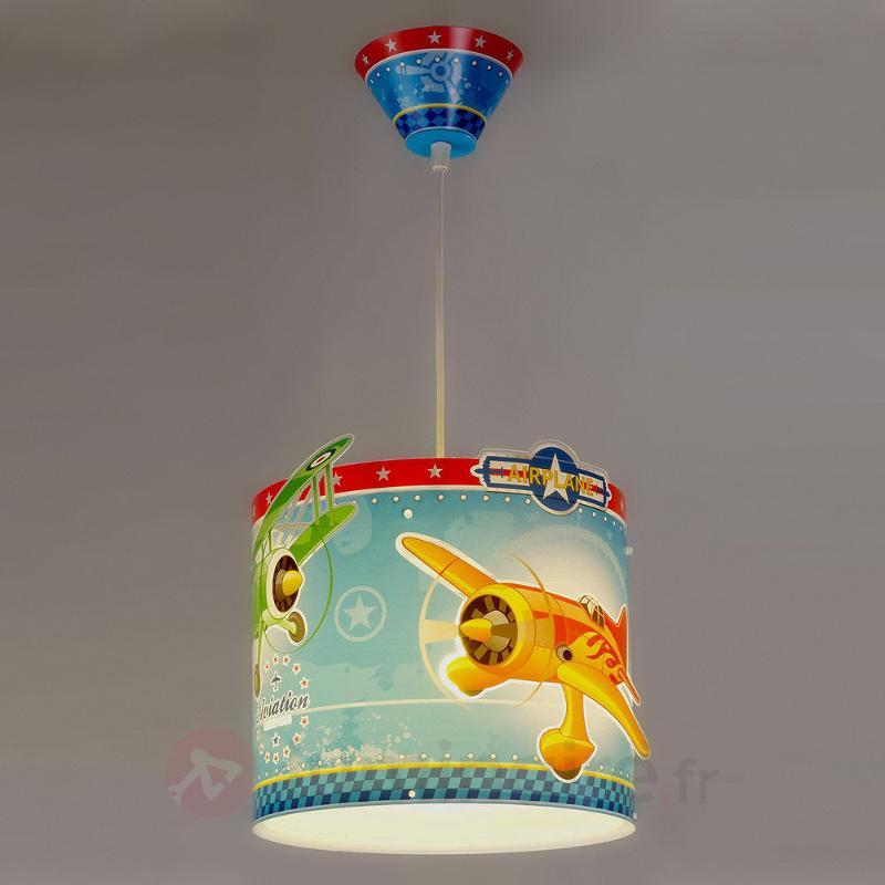 Airplane - suspension avec avions - Chambre d'enfant