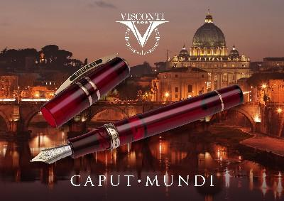 VISCONTI HS CRYSTAL CAPUT MUNDI LIMITED EDITION - only 50 pieces, so be prompt!